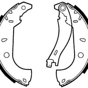 Bremsebakkesæt, Fiat/Alfa Romeo