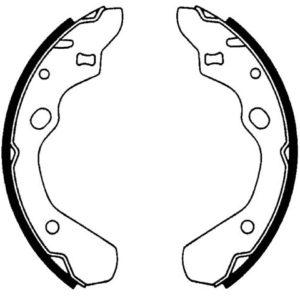 Bremsebakkesæt, Mazda 323/626