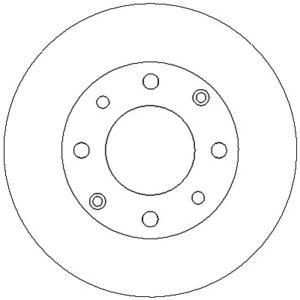 Bremseskive, for Honda / Rover