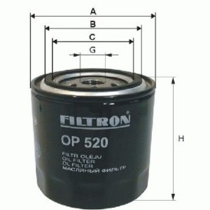 FILTRON Oliefilter ( Ford, Skoda, Morgan, Mazda )
