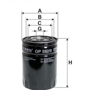 FILTRON Oliefilter ( Iveco Daily )