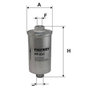 FILTRON Brændstoffilter ( Fiat, Saab, Lancia, Citroen, Volvo Audi, Ford, Porsche )