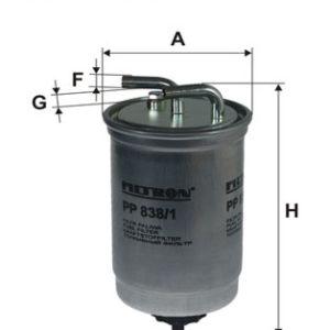 Brændstoffilter ( Ford, Mazda )