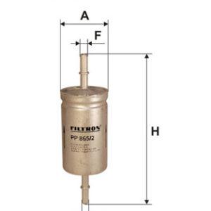 FILTRON Brændstoffilter ( Ford, Jaguar )