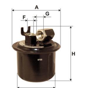 FILTRON Brændstoffilter ( Rover, Honda )