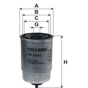 Brændstoffilter ( KIA, Hyundai )